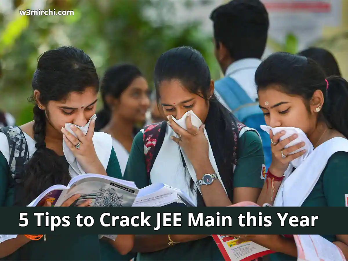 5 Tips to Crack JEE Main this Year