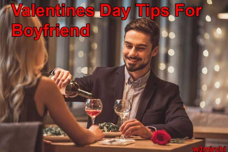 Valentines Day Tips For Boyfriend