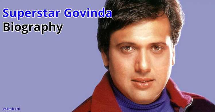 Superstar Govinda Biography