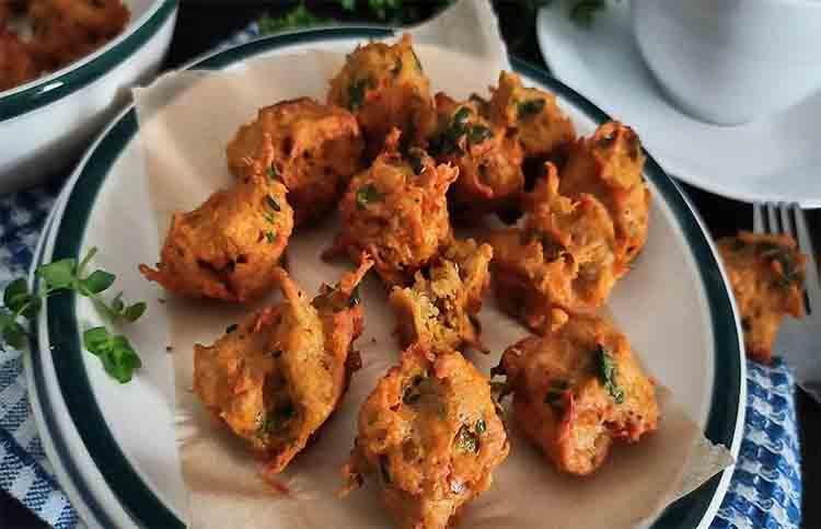 Homemade falahari delicious pakode