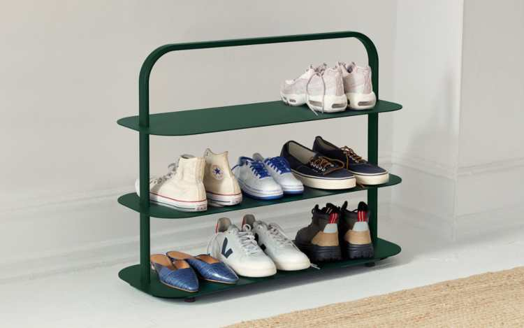 Clean your shoe rack easily