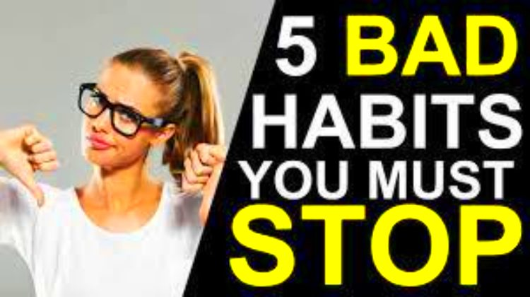 These 5 bad habits are not good for a healthy lifestyle