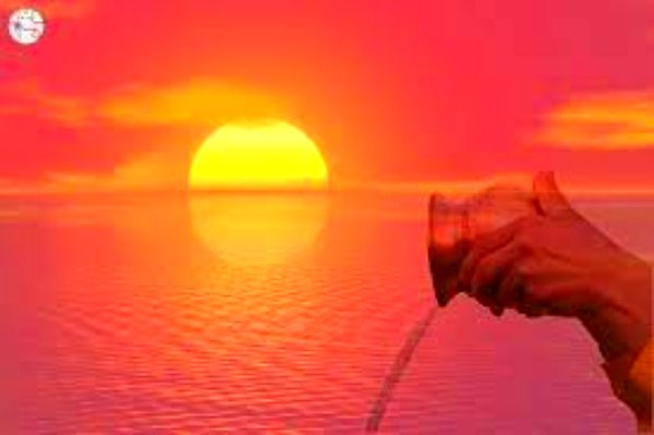 Amazing benefits of offering water the sun in early morning