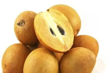 Chikoo (Sapota) is beneficial for skin and hair