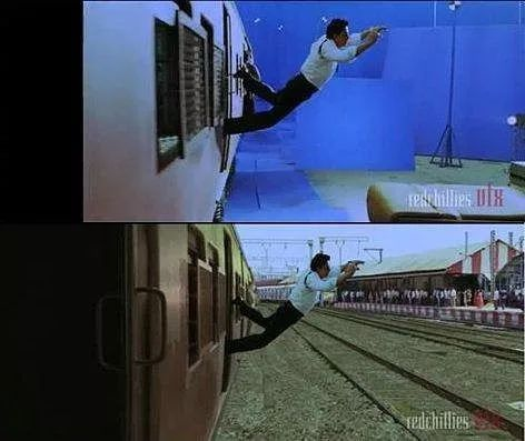 Using vfx in Bollywood movies