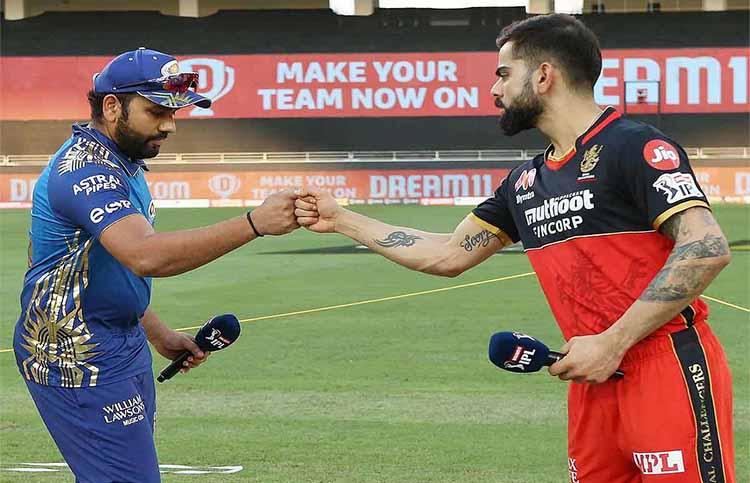 MI vs RCB IPL2021 opening