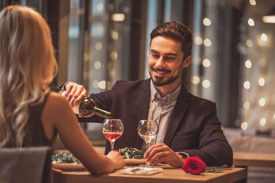 Valentine day  dinner date
