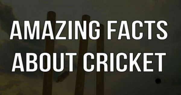 Amazing Cricket Facts,