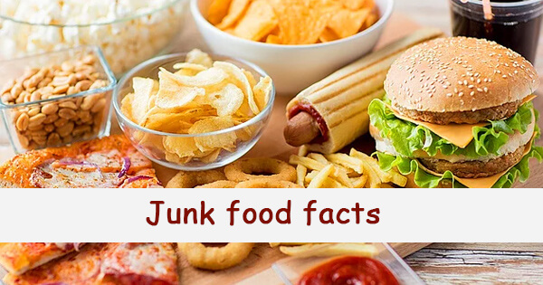 Facts on junk food,