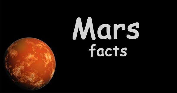 Facts on mars, मंगल ग्रह की जानकारी