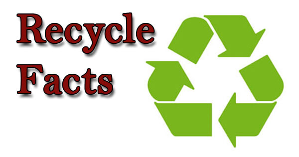 Facts on recycle, रीसायकल पर तथ्य