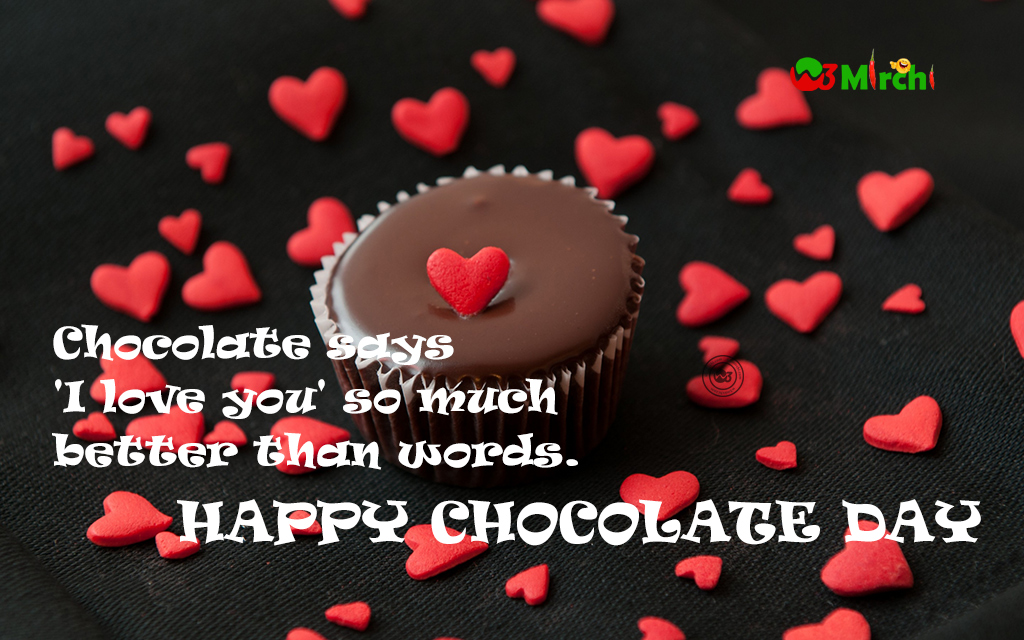 happy chocolate day quote chocolate day images
