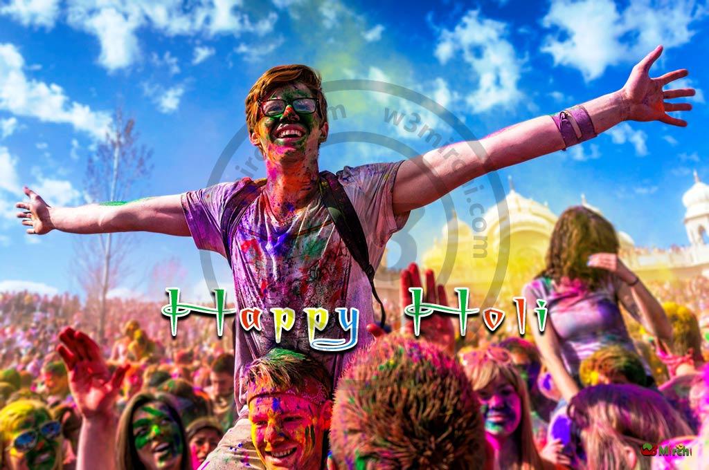 Happy Holi wishes image
