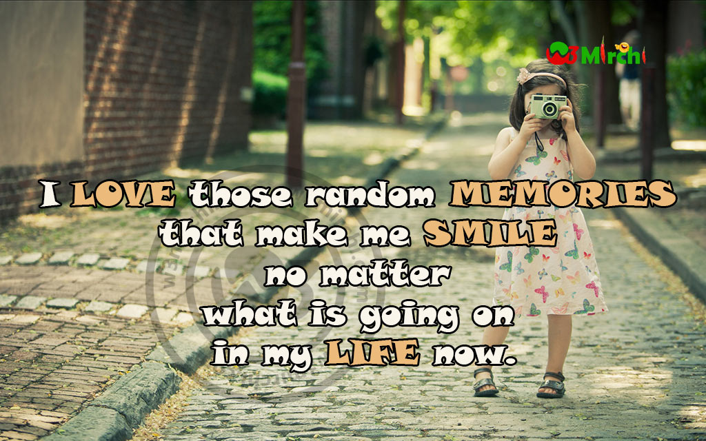 cute girl camera quotes image