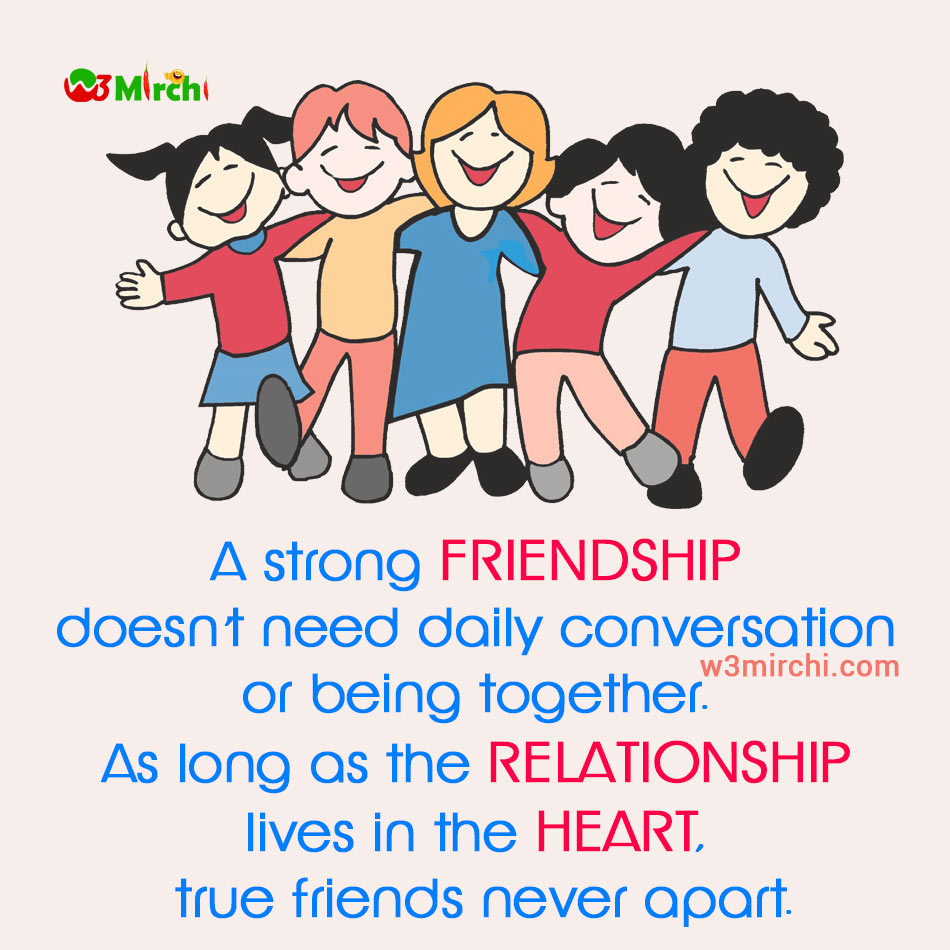 Strong Friendship Image