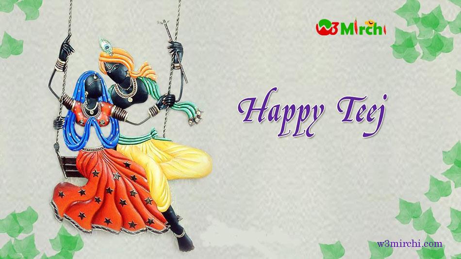 Happy Teej Image