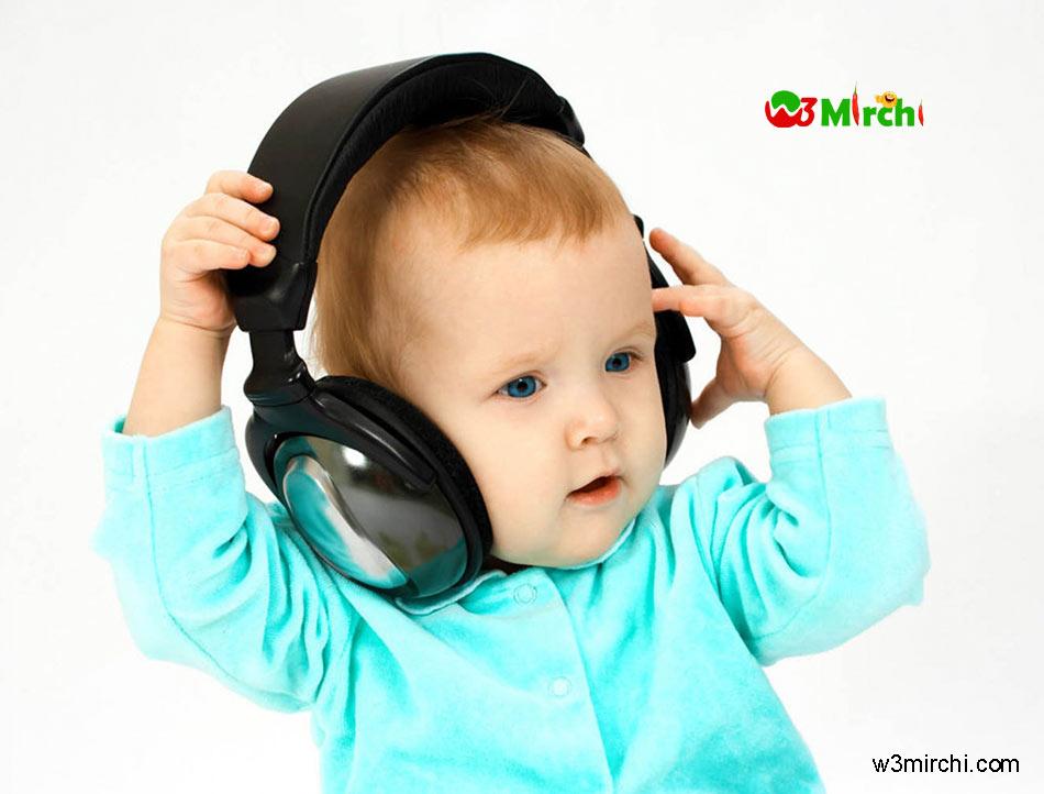 Cute Boy Listen music image