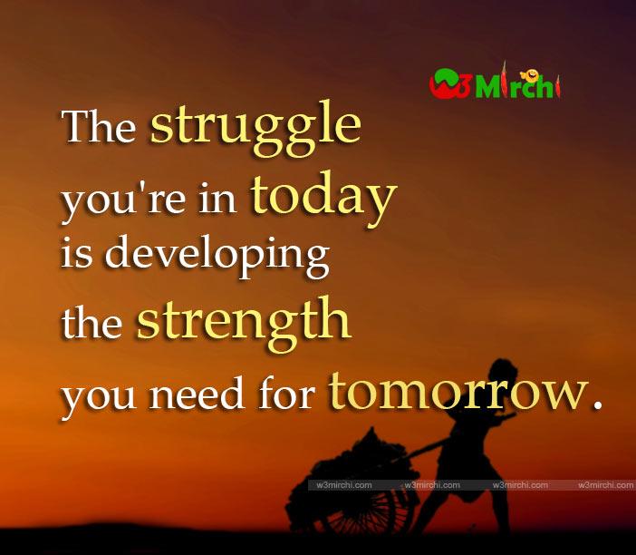 Struggle Quote Image