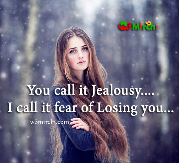Jealousy Quote image