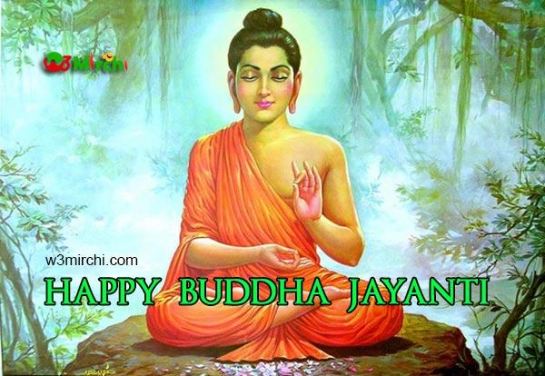 Lord Buddha Jayanti Image