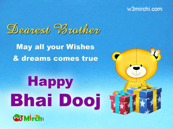 Bhai Dooj Wishes in for brother