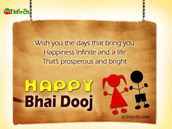 Happy Bhaiya Dooj Quotes and Cards