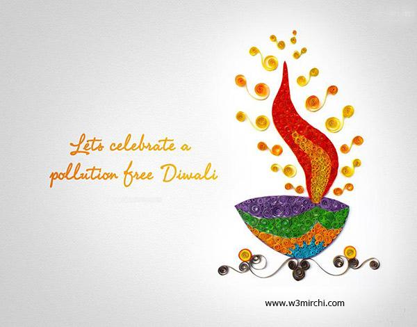 Happy Diwali Diya Image
