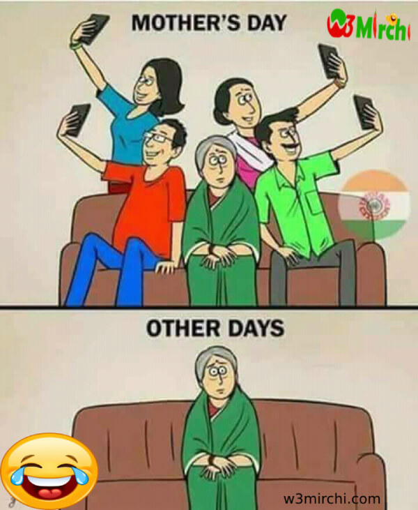 Mother day funny photoes