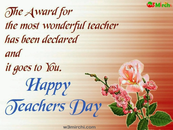 Happy teachers day greeting card images