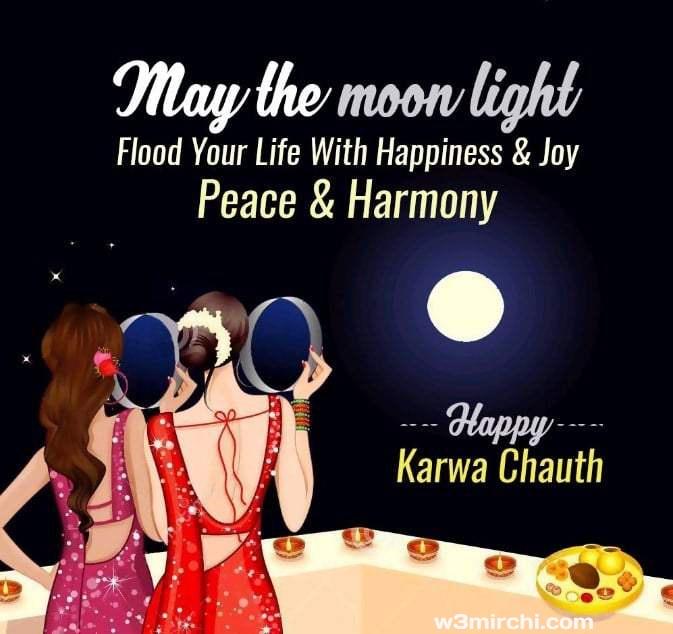 Karwa chauth wish images