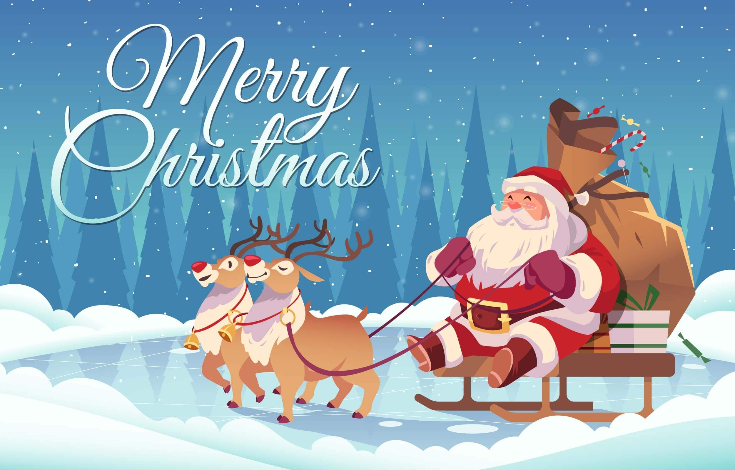 आया संता आया लेके खुशियाँ हजार Merry Christmas 2020-2021