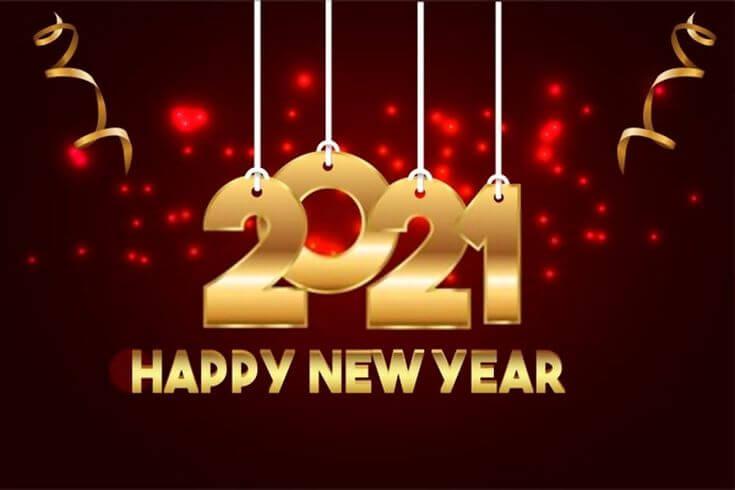 नव वर्ष की नयी कामना कभी न तुमको भूलेगी। HAPPY NEW YEAR 2021