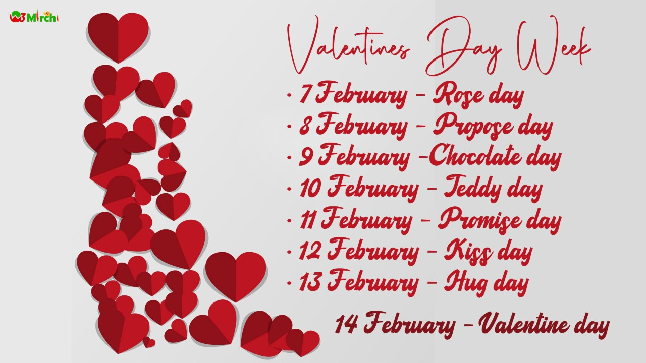 Happy Valentines Day List