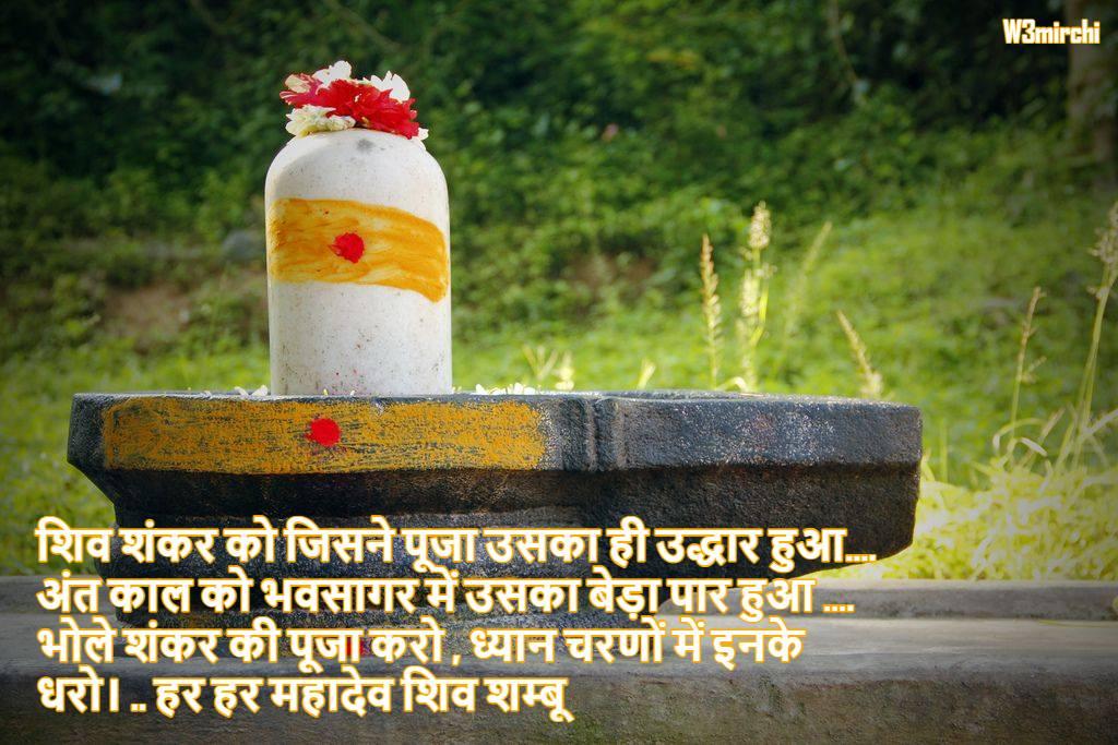 भोले शंकर की पूजा करो , ध्यान चरणों में इनके धरो..  हर हर महादेव शिव शम्बू