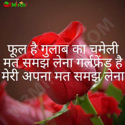 Gulab Shayari फूल है गुलाब का