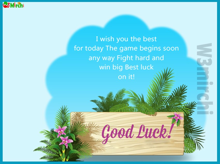 Good Luck Quotes    I wish you the best