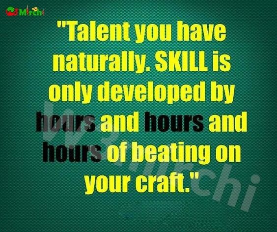 Talent Quotes (टैलेंट कोट्स)