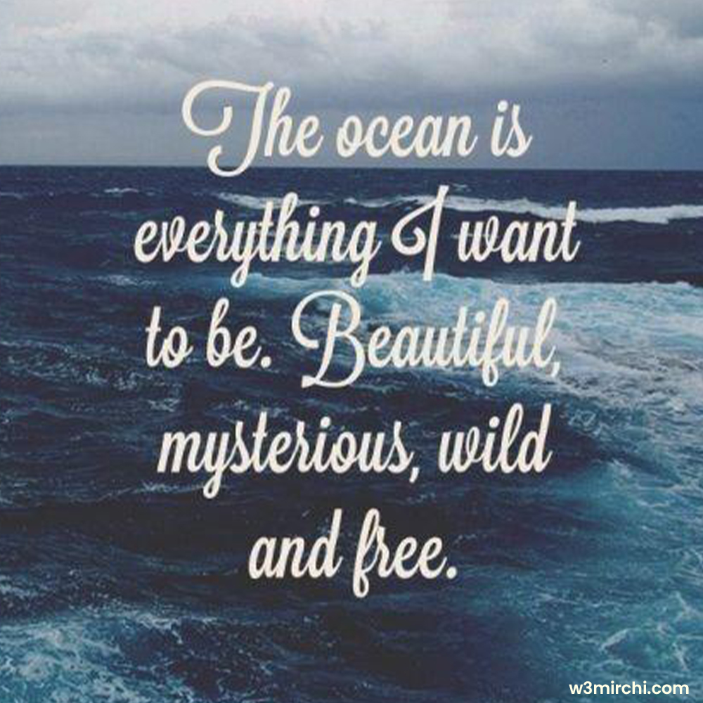 Beautiful, mysterious, wild and free