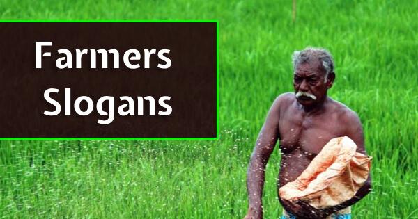 Farmers Slogans