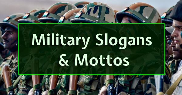 Military Slogans & Mottos