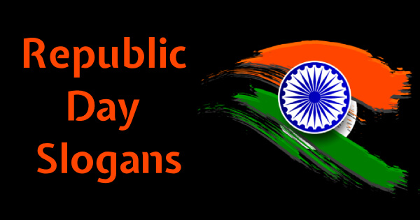 Slogan on Republic Day