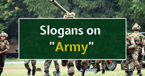 Slogans of Army
