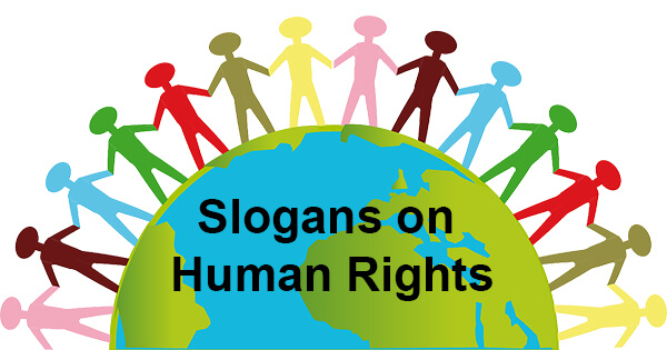 Slogans on Human Rights