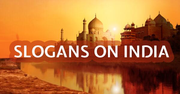 Slogans on India